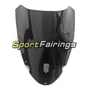 ABS-Plastic-Bike-Black-Screens-For-Ducati-999-749-2003-2004-Windshield-Biposto