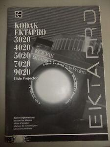 instructions slide projector kodak ektapro 3020 4020 5020 7020 9020 rh ebay co uk Yamaha Service Manuals PDF Repair Manuals Yale Forklift