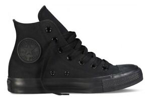 converse all star uomo alte nere