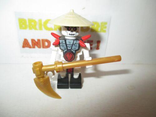Minifigures Frakjaw with Hat njo019 Ninjago Lego