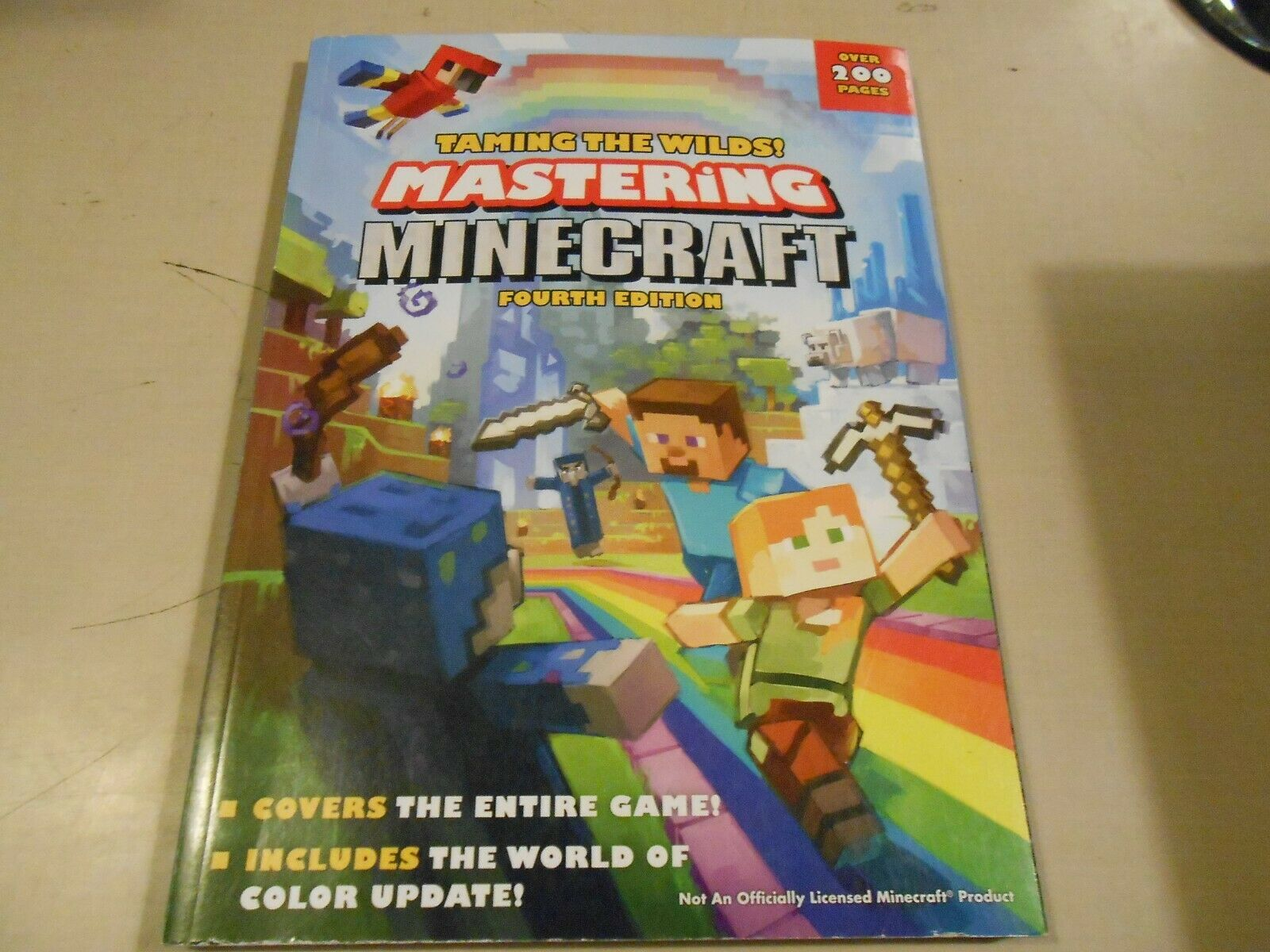 Taming The Wilds Mastering Minecraft Fourth Edition By Prima Games 2018 Paperback