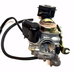 20mm SunL 50cc 50 Carburetor /& Intake Manifold Boot Scooter Moped Carb NEW