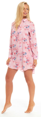 Damen Nacht Schlaf Hemd Nachthemd BLUSE Satin Strandbedeckung Sommer Damen Bett