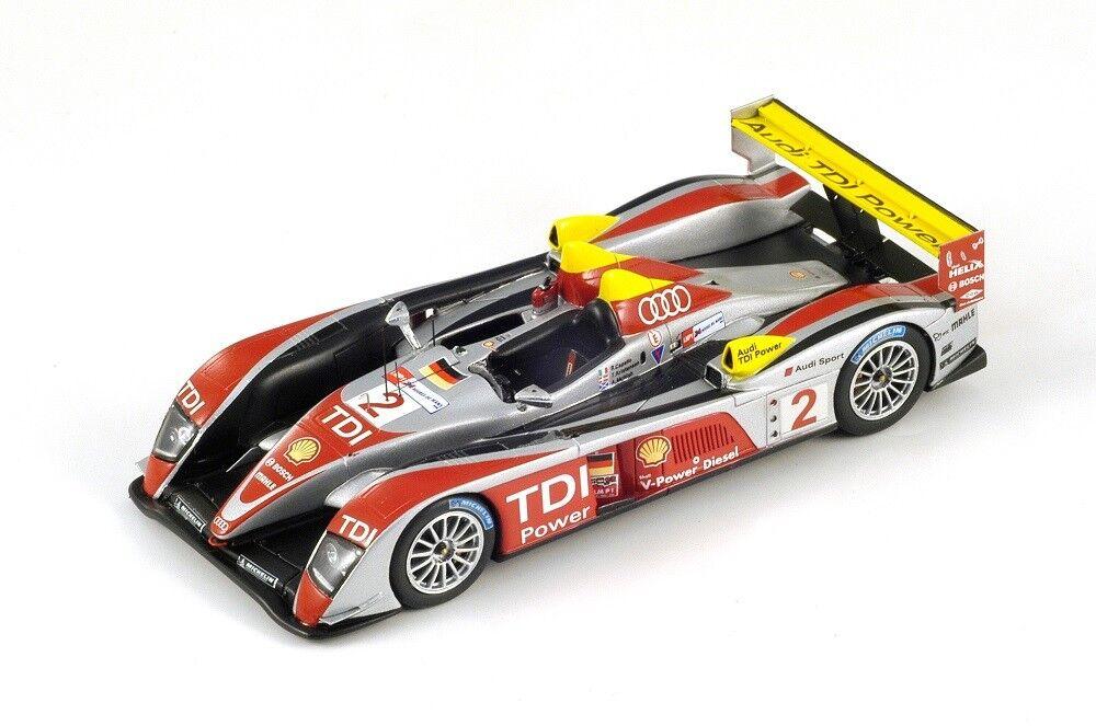 Audi R10  2 McNish-Kristensen-Capello  Winner Le Mans   2008 (Spark 1 43 43LM08)  économiser jusqu'à 70%