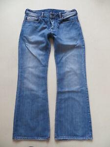 Diesel-ZATHAN-wash-008AT-Bootcut-Jeans-Hose-W-32-L-30-Vintage-Denim-RARITAT