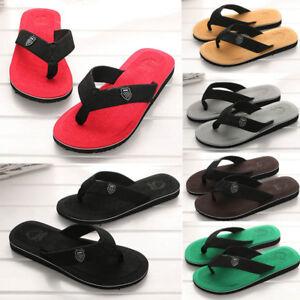 Chic-Men-039-s-Summer-Flip-flops-Slippers-Beach-Sandals-Indoor-amp-Outdoor-Casual-Shoes