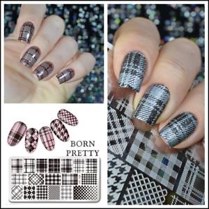 Born-Pretty-Nail-Art-Stamping-Image-Plates-Stencil-Design-Templates-DIY