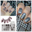 Born-Pretty-Nail-Art-Stamping-Image-Plates-Stencil-Design-Templates-DIY thumbnail 1