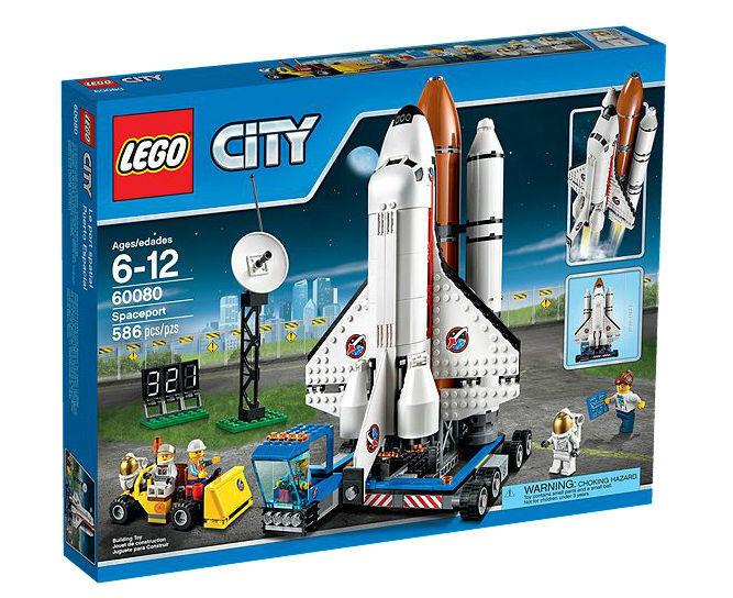 LEGO 60080 città spazioport  Shuttle Astronauts nuovo FACTORY SEALED scatola RETIrosso  a buon mercato