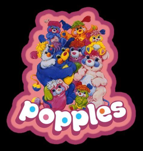 80/'s Cartoon Classic Popples custom tee Any Size Any Color