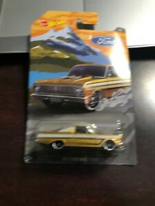 Hot-Wheels-2018-Walmart-Ford-Pickups-Series-1-1965-Ford-Ranchero-NIP