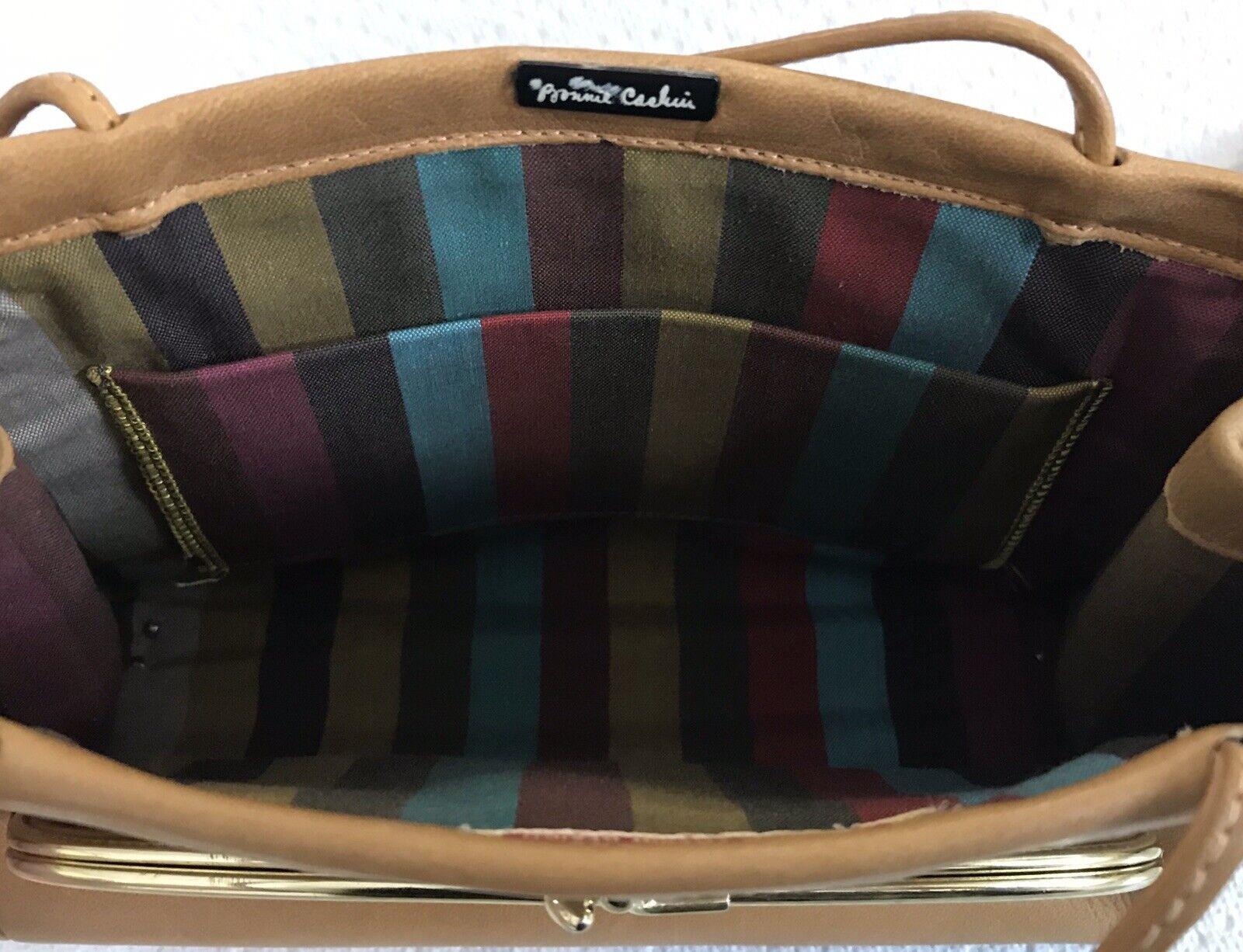 Vintage Coach Rare Leather Bonnie Cashin Stripe I… - image 10