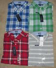 Tommy Hilfiger Short Sleeve Classic Fit Shirt Asst Colors & Sizes NWT