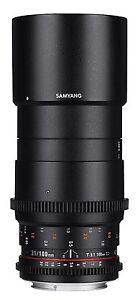 Samyang-Vdslr-II-100mm-T3-1-Ed-Umc-Macro-Cine-Lentille-pour-Canon-Syds100m-c
