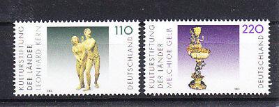 Kunst & Kultur Motive Konstruktiv V3545 Brd/ Kunst Minr 2107/08 ** Supplement Die Vitalenergie Und NäHren Yin