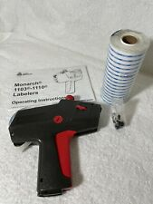 Avery Monarch 1110 Labeler Amp 16 Rolls Labels Ink Roll Tested Works Price Gun