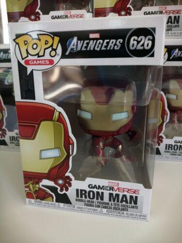#626 *** Pré-commande *** Marvel Avengers jeu Iron Man Funko POP