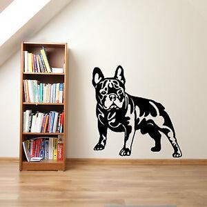 FRENCH-BULLDOG-DOG-vinyl-wall-art-sticker-decal