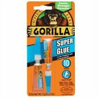 Gorilla 41005 Super Glue Tube, 3g - 2 Pack