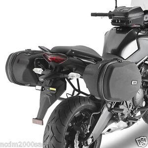 106032e22e FRAMES GIVI SIDE PANNIERS Easylock O FLUFFY KAWASAKI Versys 650 2012 ...