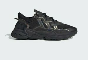 Adidas-Originals-Men-039-s-Ozweego-Shoes-NEW-AUTHENTIC-Black-FV9653