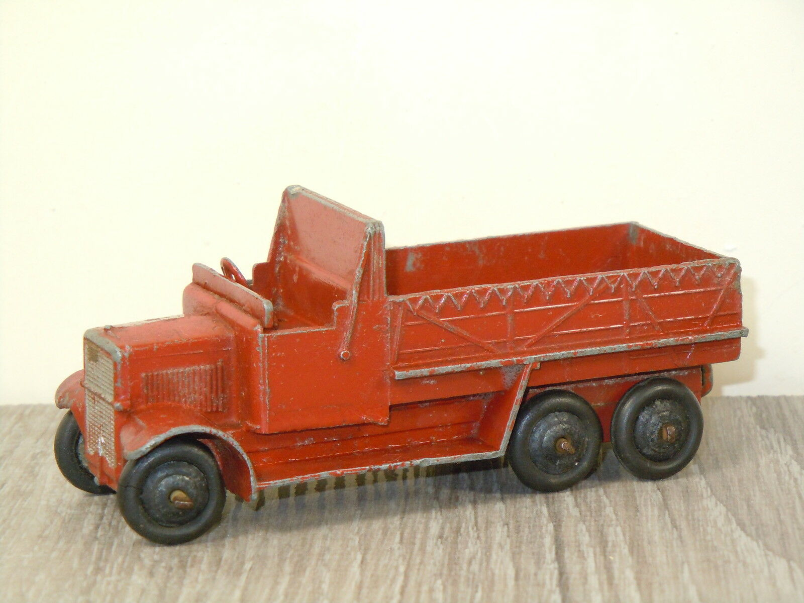 6 Wheel Covered Wagon Van Dinky Toys 25s England  288