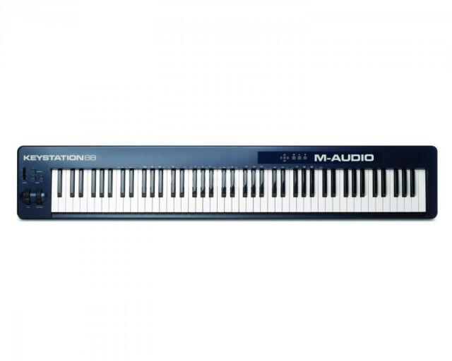 M-Audio Keystation 88 II 88-Key USB Keyboard MIDI Controller AWESOME!
