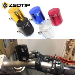 Front Brake Clutch Master Cylinder Fluid Reservoir Oil Tank Cup CNC Aluminium