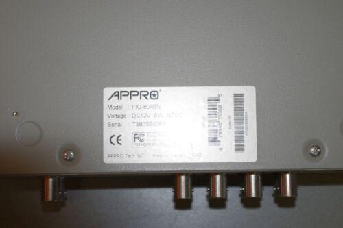APPro FIO-8046N dual-unit CCTV color quad processor FIO 8046