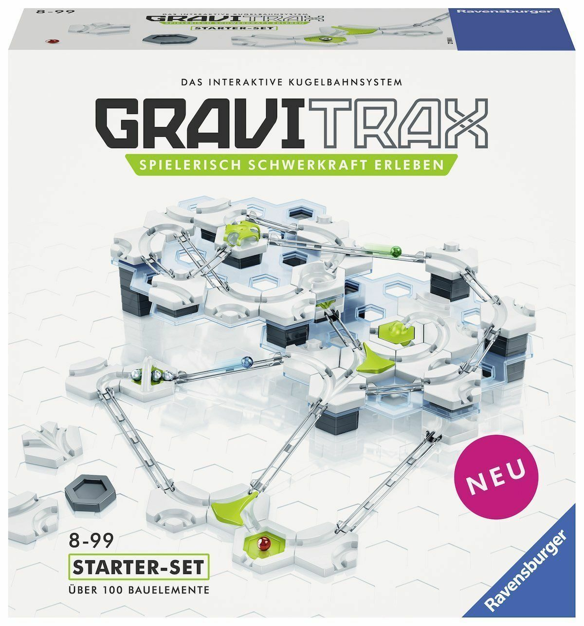 Ravensburger Gravitrax Starter Set - Kuyellowahnsystem New Sealed