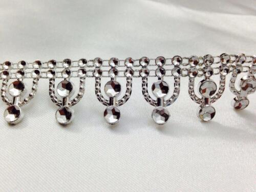 20mm//9M Diamante Bling Sparkling Diamond Effect Wedding Cake Craft Trim Ribbon