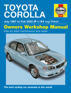 haynes manual 4286 toyota corolla 1 3 1 4 vvti 1 6 vvt i cd gs rh ebay co uk service manual toyota corolla 2001 manual toyota corolla 2001 pdf