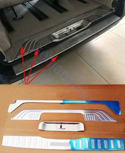Steel Rear Bumper Protector Cover Trim for 2014-2018 Mercedes-Benz V-Class W447