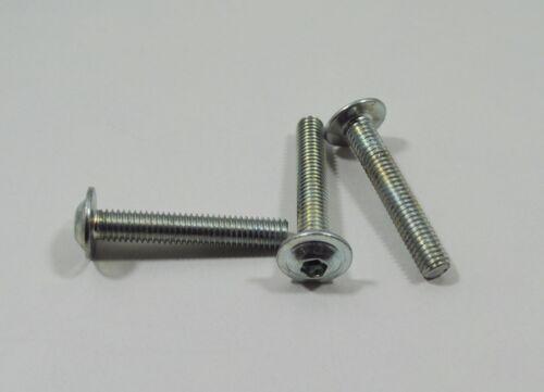 M6 x 35 mm Linsenschrauben ISO 7380 Güte 10,9-20 Stück mit Flansch