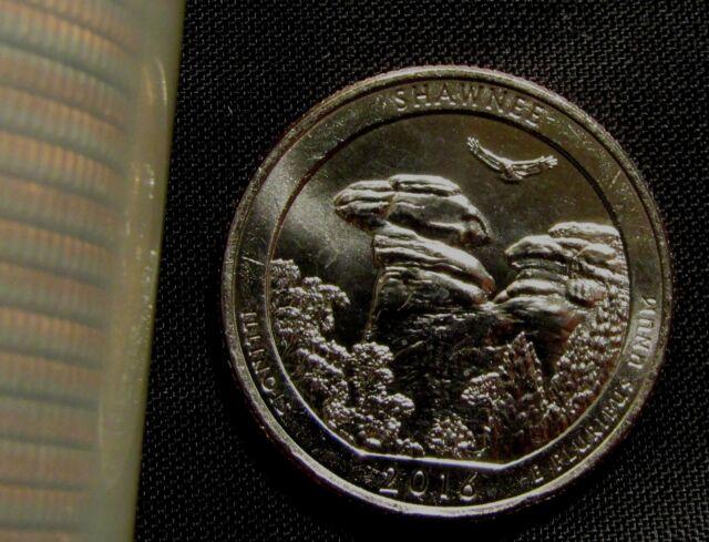 2016-D Denver Mint America The Beautiful Shawnee Quarter BU