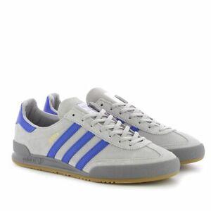 Dettagli su Adidas Originali Jeans Scarpe Sportive GrigioBlu CQ2769 Misura UK 7 11