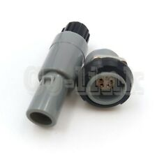 Pagpkg 5pin Push Pull Self Locking Medical Connector For Redel 1p Plastic Plug