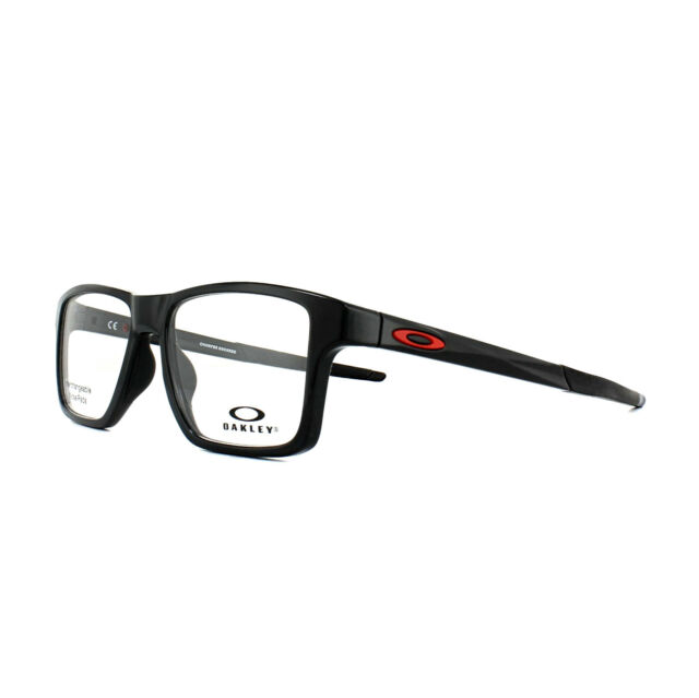 bd47caa7c0 Oakley Glasses Frames Chamfer Squared OX8143-03 Polished Black 52mm Mens