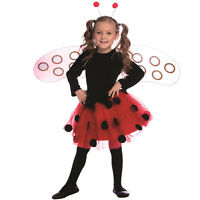 Ladybug Dress Costume Set For Girls - By Dress Up America
