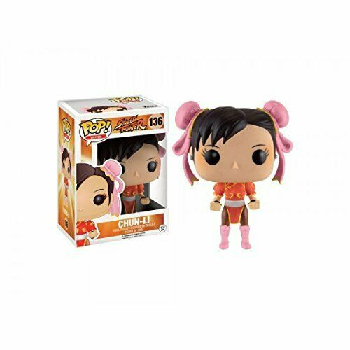 Games-Street Fighter Chun-Li red outfit VINILE figure 10cm Limited Funko Pop