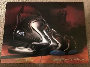 best website 1407b 369b1 Image is loading Vintage-1997-NIKE-AIR-MAX-PENNY-Poster-Print-