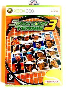 Smash-Court-Tennis-3-Xbox-360-Neuf-Videojuego-Retro-Scelle-Scelle-Nouveau-Spa