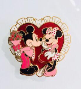Disney Mickey Minnie Candy Bouquet Of Flowers Valentine S Day Pin