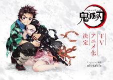 "022 Demon Slayer Kimetsu no Yaiba Fight Japan Anime 30/""x24/"" Poster"