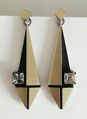 Modernist Ohrringe Bergkristall Nordform KJP Finnland 925 Sterlingsilber Vintage | eBay