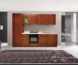 Pensili mobili cucina componibile classica noce arte povera h72 | eBay