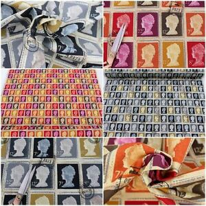 DESIGNER-COTTON-FIRST-CLASS-BRITISH-STAMP-PRETIGIOUS-CUSHION-UPHOLSTERY-FABRIC