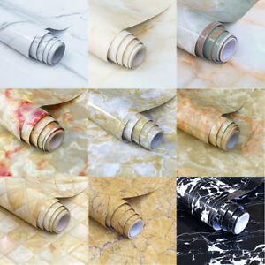 Marmor-Fototapete-Selbstklebend-Klebefolie-Granit-Kueche-Wasserdicht-11-Farbe