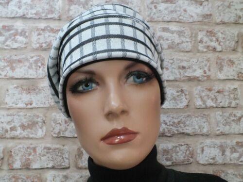 Perte de cheveux leucémie Réversible 2 en 1-Jersey Chapeau Coiffure Pour Cancer Chemo