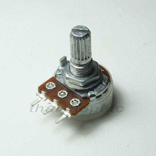 2 x 5KB 5K Ohm B5K Taper Potentiometer Pot 17mm Shaft